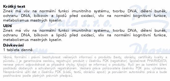Edenpharma Zinek 25mg tbl.50