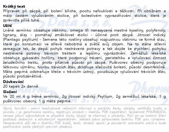 FYTOS Kapky - Zeměžlučová směs 20 ml