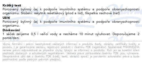 HERBEX Rakytník a třapatka (echinacea) n.s.20x3g
