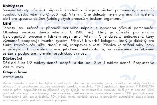 Revital C vitamin 500mg pomeranč tbl.eff.20