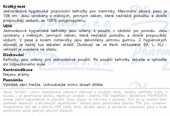 CANPOL BABIES jednoráz. mat. kalhot. 5ks vel.L/XL