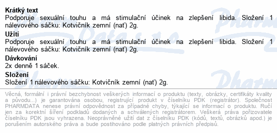 HERBEX Kotvičník zemní n.s.20x2g
