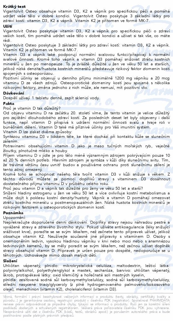 Vigantolvit Osteo 30 tablet