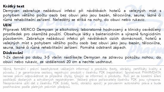 MERCO Demycan na dezinfekci mykóz 120ml